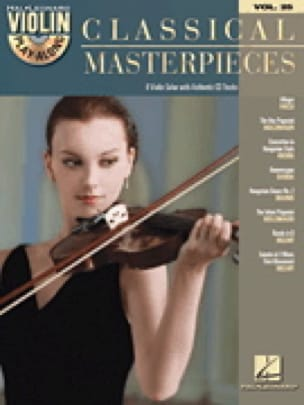 Violin play-along volume 25 - Classical Masterpieces laflutedepan