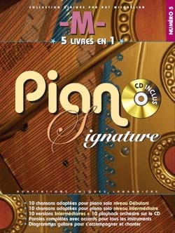 - Mathieu Chedid M - Piano signature numéro 5 - Partition - di-arezzo.fr