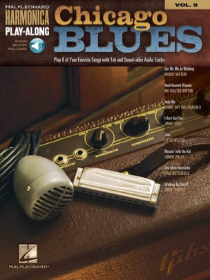 - Harmonica Play-Along Volume 9 - Chicago Blues - Partition - di-arezzo.fr