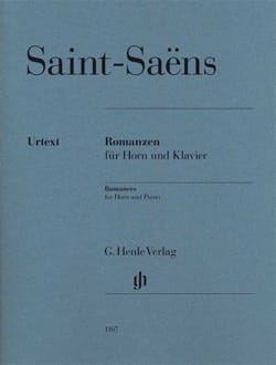 Camille Saint-Saëns - Romanzen opus 36 and opus 67 - Sheet Music - di-arezzo.co.uk