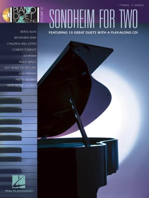 Stephen Sondheim - Piano Duet Play Along Volume 32 - Sondheim for Two - Sheet Music - di-arezzo.co.uk