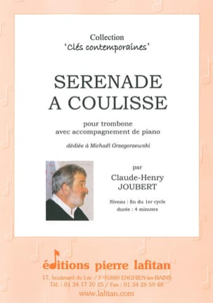 Claude-Henry Joubert - Sliding Serenade - Sheet Music - di-arezzo.co.uk
