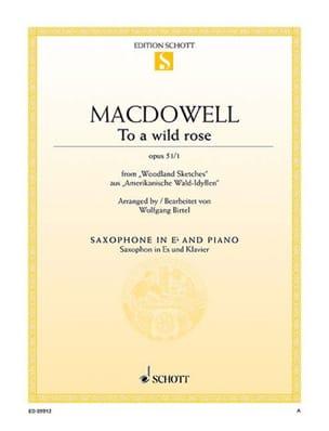 Edward MacDowell - Para una rosa salvaje de Woodland Sketches Opus 51/1 - Partitura - di-arezzo.es
