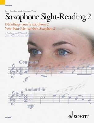 Kember John / Vinall Graeme - Saxophone Sight-Reading 2 - A Fresh Approach - Partition - di-arezzo.fr