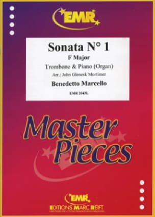 Benedetto Marcello - Sonata N°1 in F Major - Partition - di-arezzo.fr