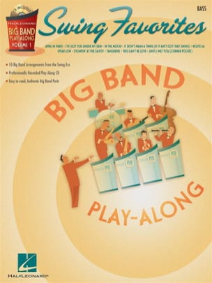 - Big band play-along volume 1 - Swing favorites - Partition - di-arezzo.fr