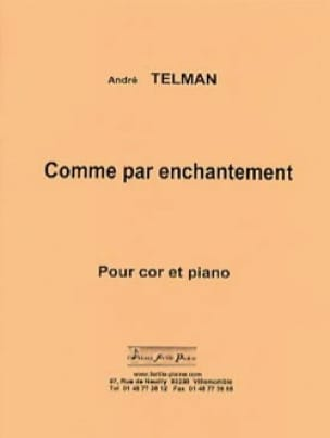 André Telman - As by Enchanting - Sheet Music - di-arezzo.com
