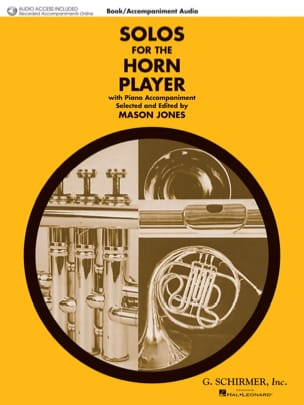 - Solo For the Horn Player - Partition - di-arezzo.fr