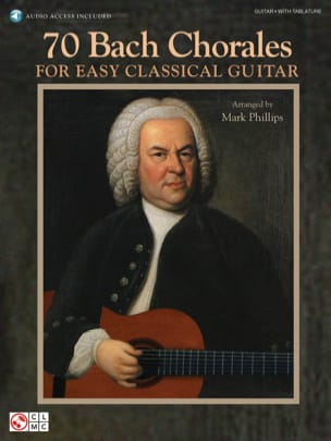 Johann Sebastian Bach - 70 Bach Chorales For Easy Classical Guitar - Partition - di-arezzo.fr