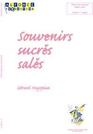 Gérard Hagopian - Souvenirs Sucrés Salés - Partition - di-arezzo.fr