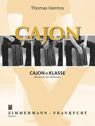 Thomas Keemss - Cajon = Klasse - The Schule for Holzkisten - Sheet Music - di-arezzo.com
