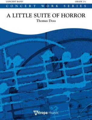Thomas Doss - A Little Suite Of Horror - Sheet Music - di-arezzo.com