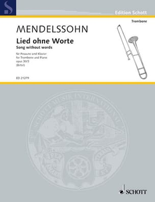 Lied Ohne Worte - Song Without Words Opus 30/3 - laflutedepan.com
