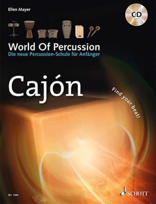 Ellen Mayer - World Of Percussion - Cajon - Partition - di-arezzo.fr