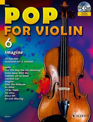 Pop for Violin Volume 6 - Imagine - Partition - laflutedepan.com