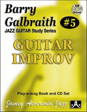 METHODE AEBERSOLD - Guitar improv - Sheet Music - di-arezzo.com