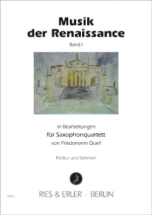 Musik der Renaissance Band 1 - Partition - di-arezzo.fr