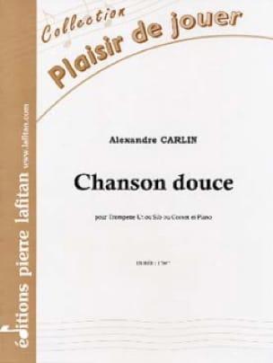 Chanson douce - Alexandre Carlin - Partition - laflutedepan.com