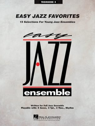 - Easy Jazz Favorites - 15 Selections For Young Jazz Ensembles - Partition - di-arezzo.fr