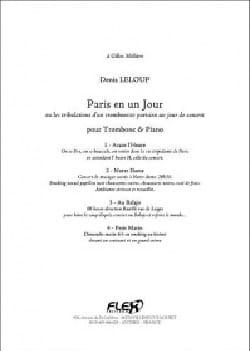 Denis Leloup - Paris in one day - Sheet Music - di-arezzo.com