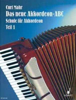 Das Neue Akkordeon - ABC Band 1 Curt Mahr Partition laflutedepan