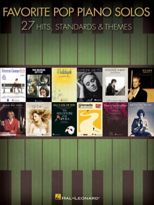 Favorite Pop Piano Solos - Sheet Music - di-arezzo.com