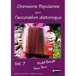 - Chansons Populaires Pour L' Accordéon Diatonique Volume 7 - Partition - di-arezzo.fr