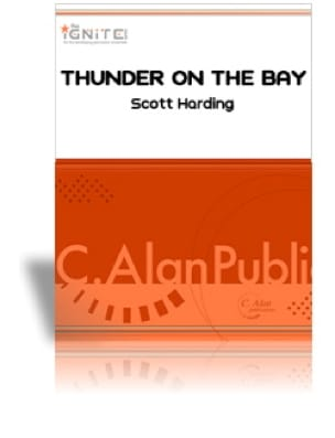 Scott Harding - Thunder On the Bay - Partition - di-arezzo.fr