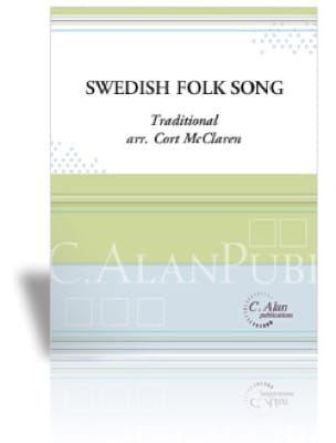Swedish Folk Song Traditionnel Partition laflutedepan