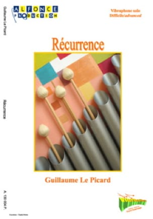 Picard Guillaume Le - Récurrence - Partition - di-arezzo.fr