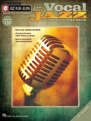 - Jazz play-along volume 130 - Vocal Jazz - Low Voice - Sheet Music - di-arezzo.co.uk