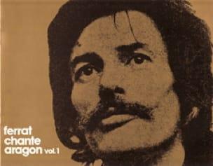 Ferrat Chante Aragon Volume 1 Jean Ferrat Partition laflutedepan