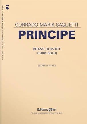 Corrado Maria Saglietti - Principe - Partition - di-arezzo.fr