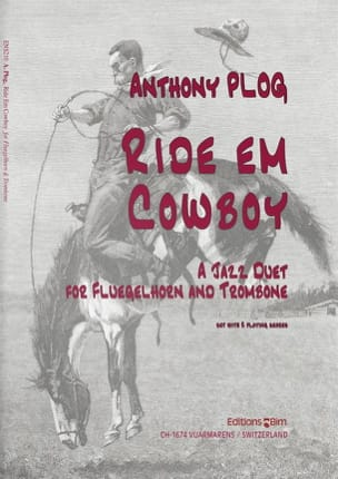 Ride em cowboy - Anthony Plog - Partition - laflutedepan.com