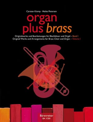 Organ plus brass volume 1 - Original works - laflutedepan.com