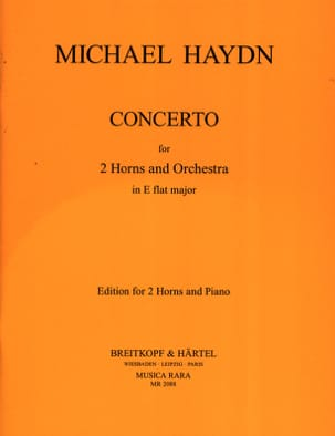 Michael Haydn - Major Eb Horn Concerto for 2 Horns - Partitura - di-arezzo.it