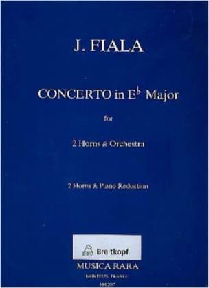 Josef Fiala - Concerto en Mib majeur - Partition - di-arezzo.fr