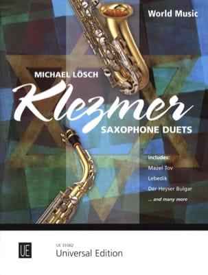 Michael Lösch - Klezmer - Saxophone duets - Partition - di-arezzo.fr
