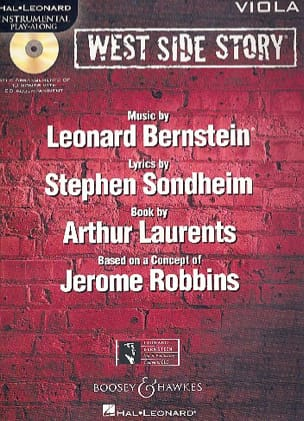 Leonard Bernstein - West side story - Instrumental play-along - Partition - di-arezzo.fr