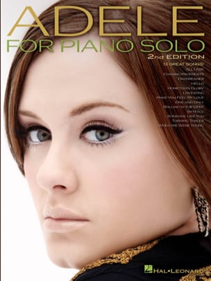 Adele - Adele for piano solo - Partition - di-arezzo.fr