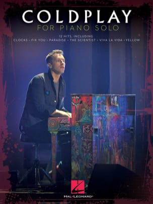 Coldplay - Coldplay for solo piano - Partition - di-arezzo.co.uk
