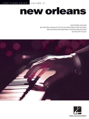 - Jazz piano solos volume 21 - New Orleans - Partition - di-arezzo.fr