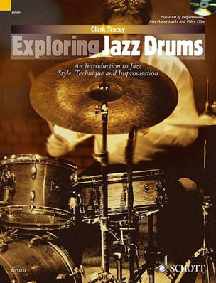 Exploring jazz drums Clark Tracey Partition Batterie - laflutedepan