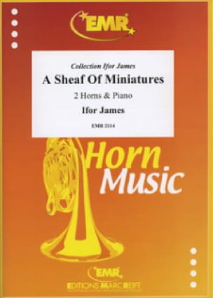 A sheaf of miniatures - Ifor James - Partition - laflutedepan.com
