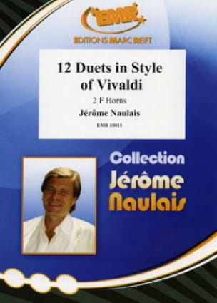 Jérôme Naulais - 12 Duets in style of Vivaldi - Partition - di-arezzo.fr