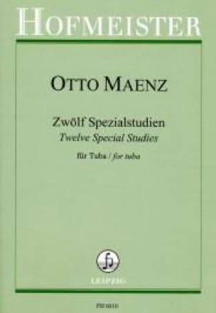 Otto Maenz - 12 Special studies - Sheet Music - di-arezzo.co.uk