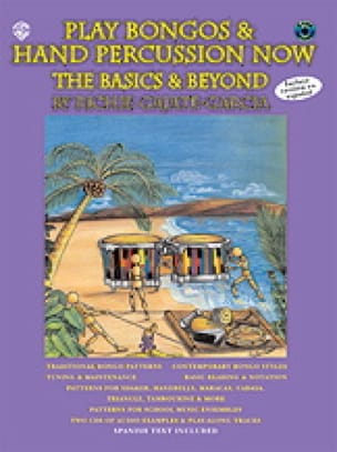 Richie Gajate-Garcia - Play bongos - hand percussion now - The basics - beyond - Sheet Music - di-arezzo.co.uk