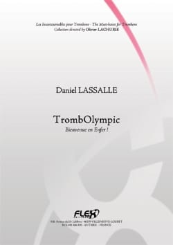 Daniel Lassalle - TrombOlympic - Partition - di-arezzo.co.uk