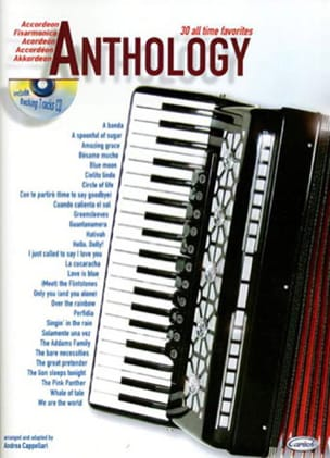 Anthology volume 1 Partition Accordéon - laflutedepan