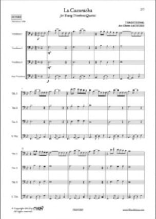 Traditionnel - The cucaracha - Sheet Music - di-arezzo.com